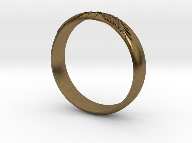 Ankh Ring 3d printed