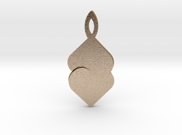 Earring by Andreas Fornemark 3d printed