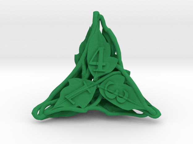 Botanical Die4 Ornament 3d printed