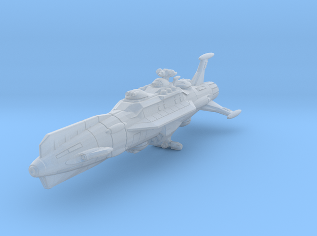 EDSF Battlecruiser Dresden (small scale) 3d printed