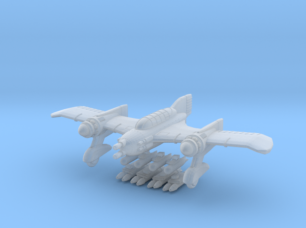 1936 JU98 Fleidermaus fighter bomber 3d printed