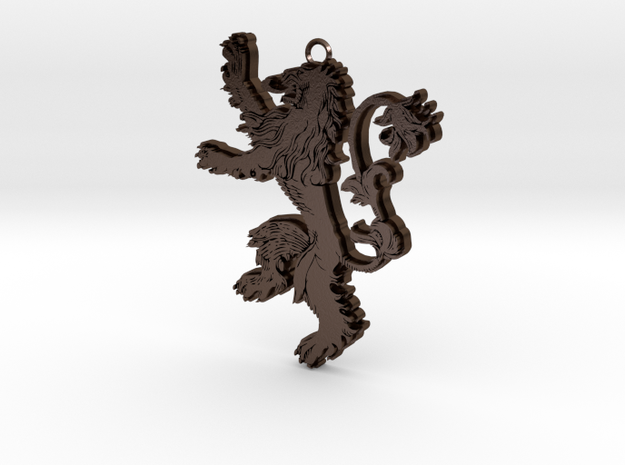 Lannister Pendant 3d printed