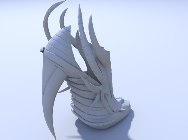 Exoskeleton Shoe - Full Size 3d printed Render 3