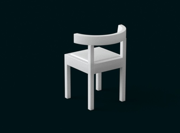 1:39 Scale Model - Chair 04 3d printed