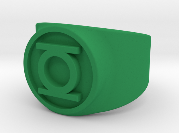 Original Hal GL Ring Sz 8 3d printed