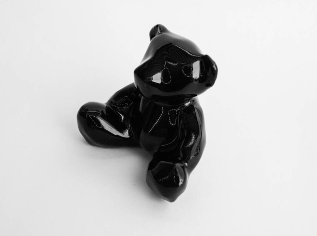 Jana | Fetish Black | Ceramic 3d printed