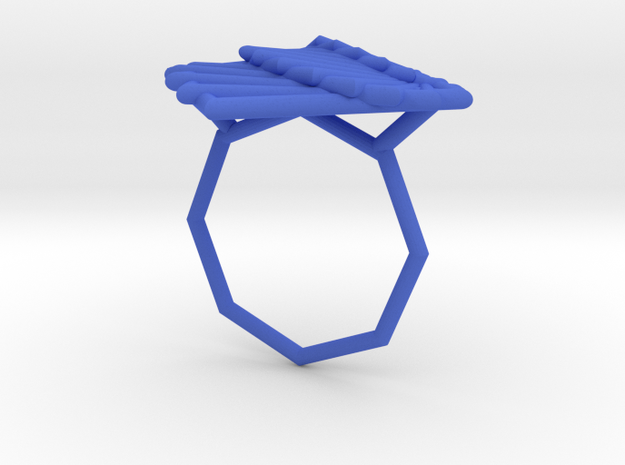 Arithmetic Ring (US Size 8) 3d printed