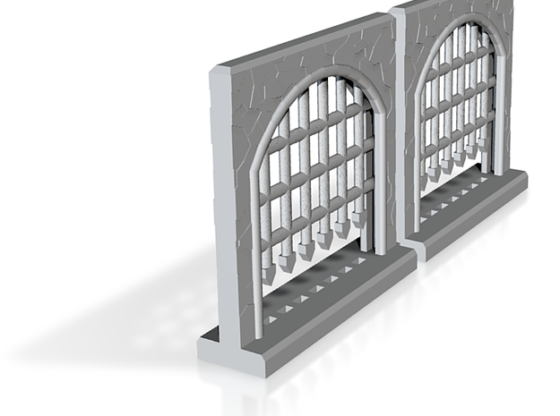 Portcullis - Large Double Sprue 3d printed