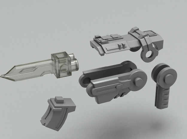 Pop gun Part-B 3d printed