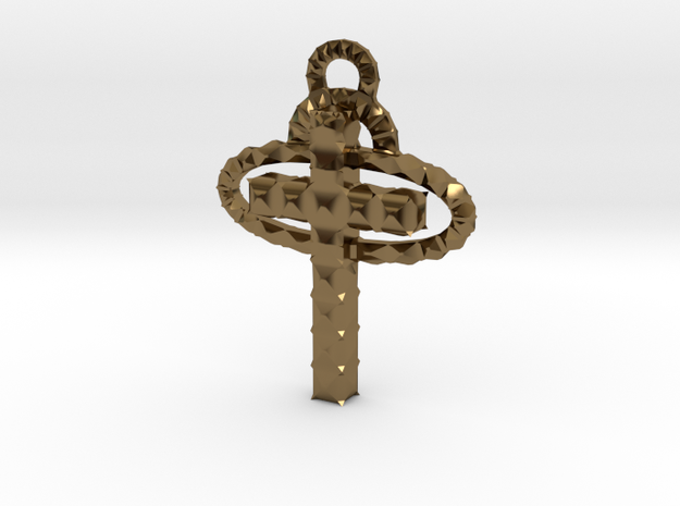 Cross 3d printed