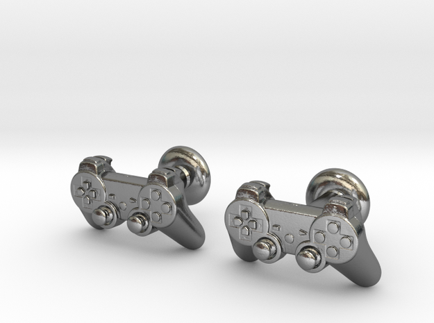 Gamer cufflinks 3d printed Watch the video below!