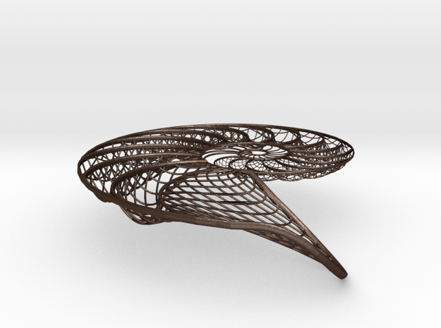 Nautilus Shell Structure 3d printed
