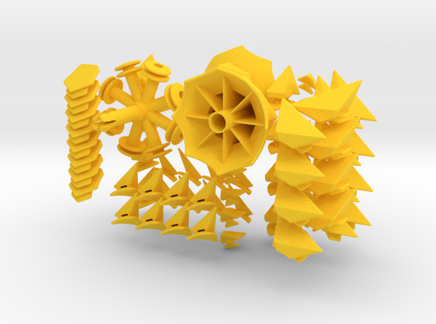 Twisted-8 Puzzle 3d printed