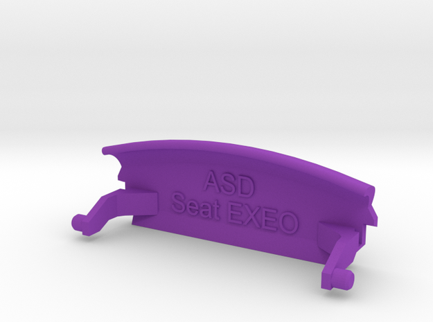 SEAT EXEO Armlehne/Armrest lid with Symbol 3d printed