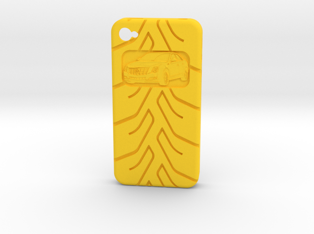 iPhone 4S Cadillac CTS A048 tread 3d printed