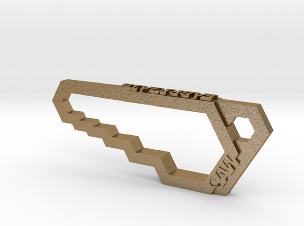 Saw wrench -keychain/necklace/gadget 3d printed