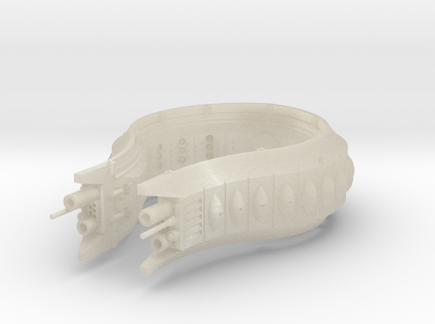 Rushi Battle Carrier - Outer Belt 3d printed