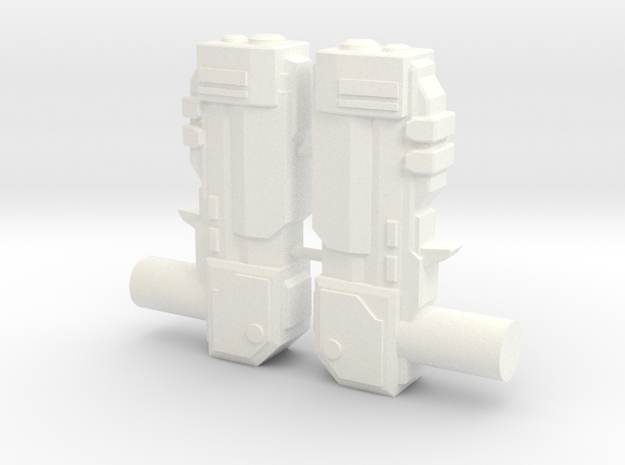 Tempest Dual Blasters 3d printed