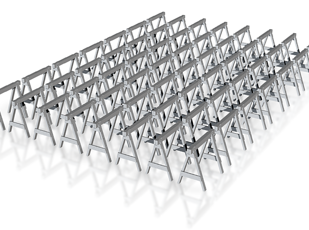 1:48 Non Stackable Sawhorses - 56ea 3d printed