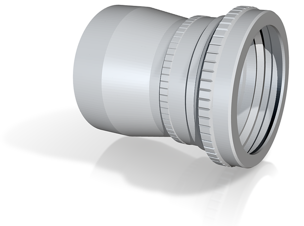 Zeiss Biogon 60 mm f/5.6 (semplified reproduction 3d printed