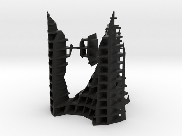 architekton with A2 and 2 - A1 singularities [XZ] 3d printed
