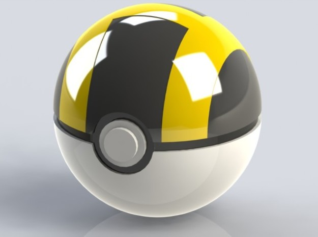 Small Poke Ball / Small Ultra Ball 3d printed