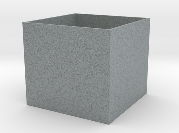 Cube Planter Large 1:12 scale 3d printed