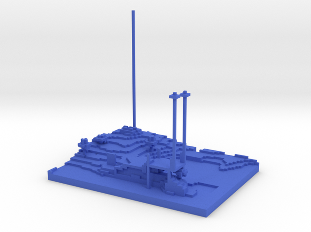 Isthmus of Blissness 3d printed