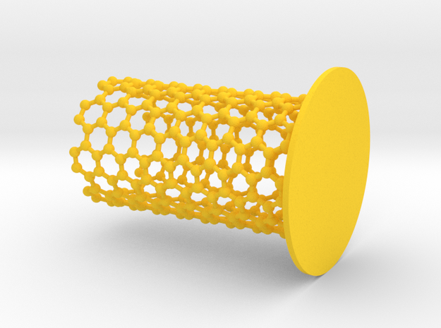 NanoTube Pen Holder 3d printed