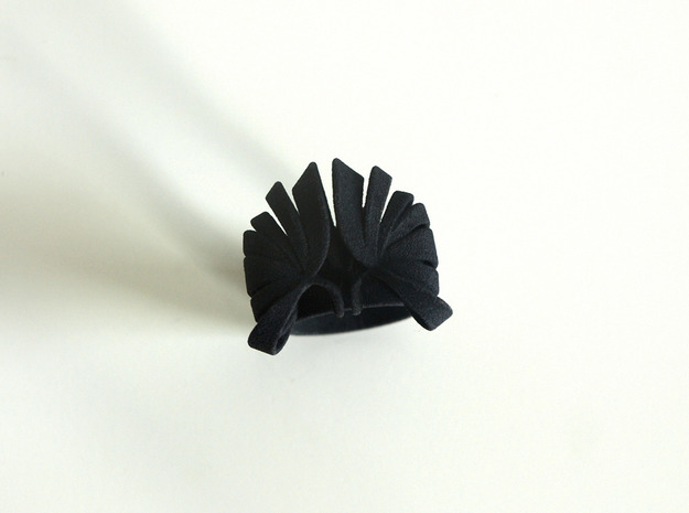 Pumpkin Ring Size 5 3d printed Black
