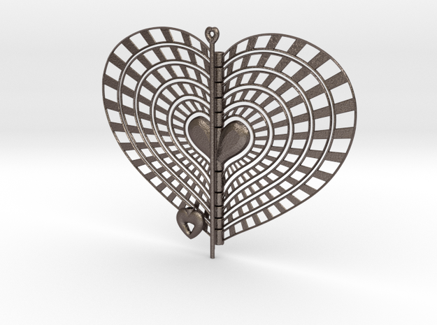 Heart Swap Spinner Rising Sun - 15cm 3d printed