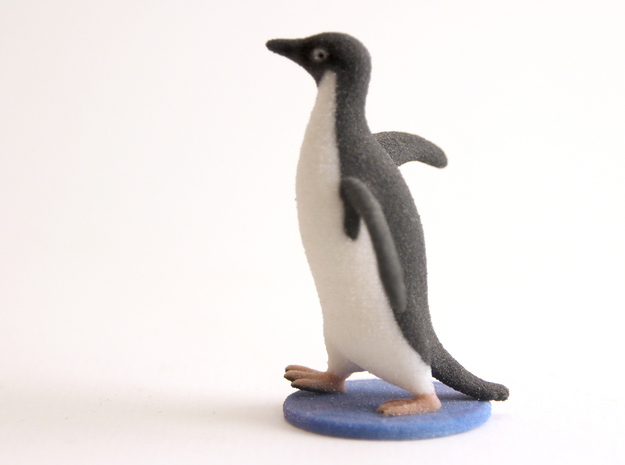 Socially Awkward Penguin 3d printed