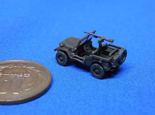 1/144 Willis MB 3d printed