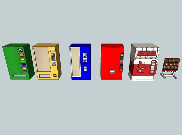 15mm Vending Machines
