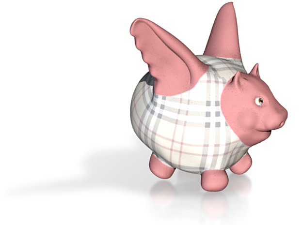Flying Pig - Designer 1 3d printed