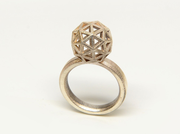 Geodesic Dome Ring size 7.5