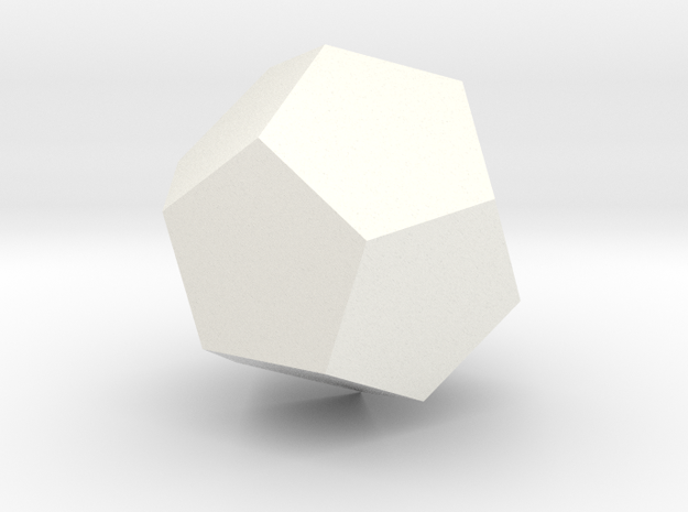 Ad for Multidodecahedron 3d printed