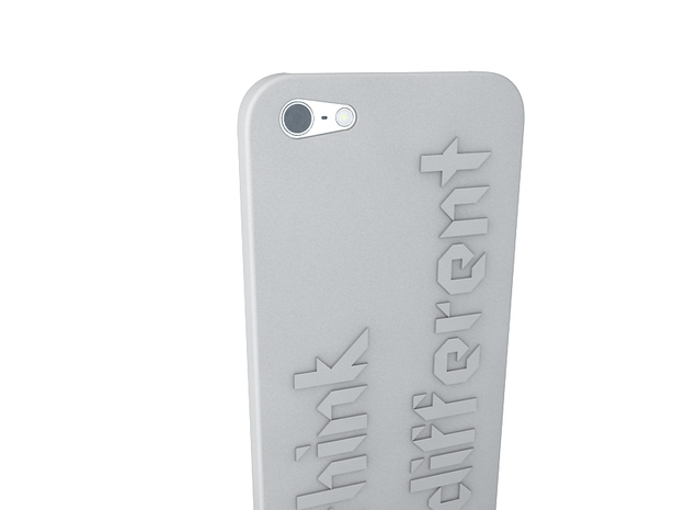 iPhone 5 Think Case 3d printed