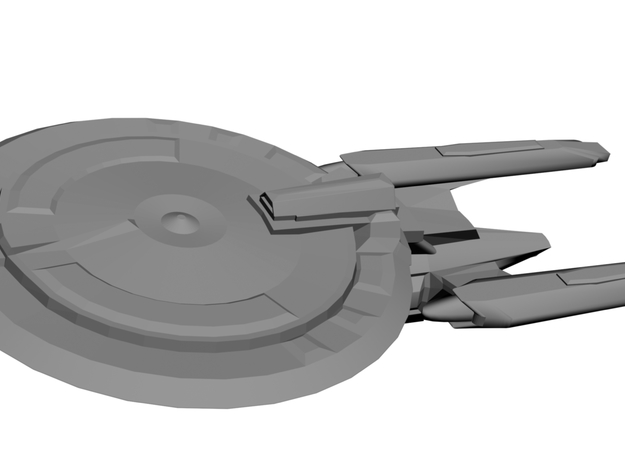 USS Bishop 3d printed