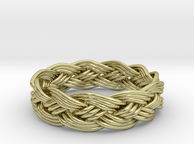 Turks Head Ring Knot 3d printed