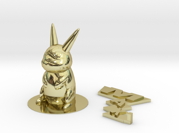 Pikachu for Max 3d printed