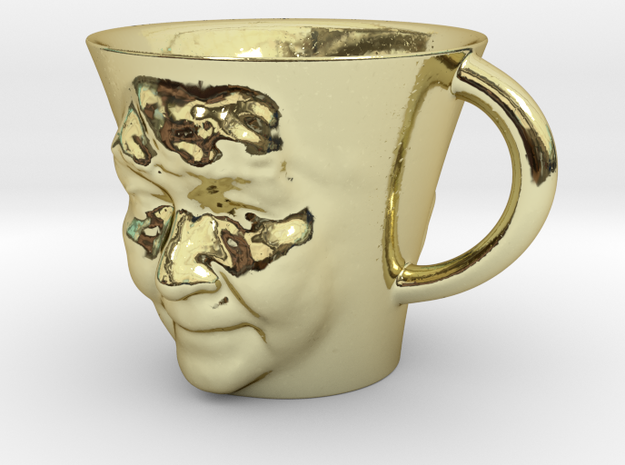 Cup with Face 4 3d printed