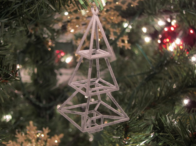 Christmas Tree Ornament 3d printed