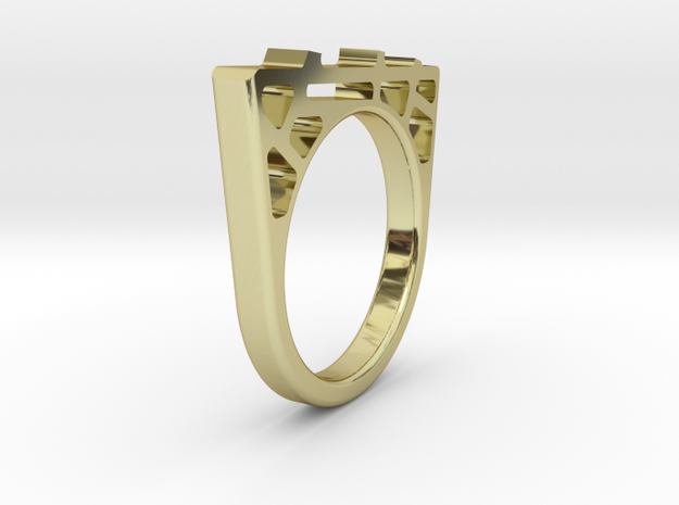 Bridge Ring 3d printed