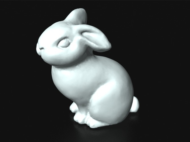 """Chanford"" Bunny Netsuke (accessory for Japanese k 3d printed"