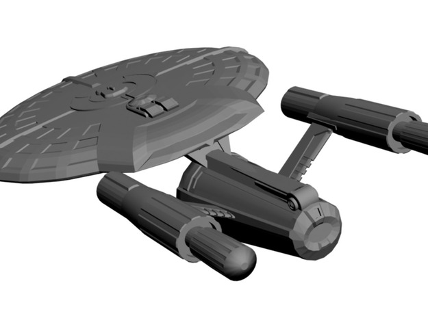 USS Carthage 3d printed