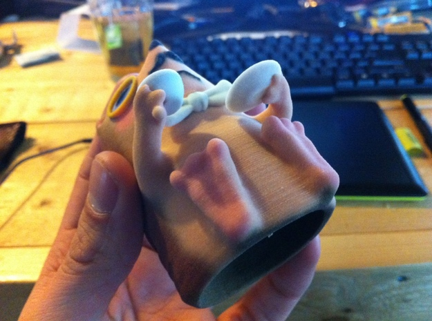 Jep, the classy hedgehog 3d printed