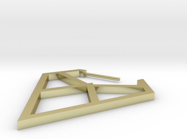 Diamond Truss 3d printed