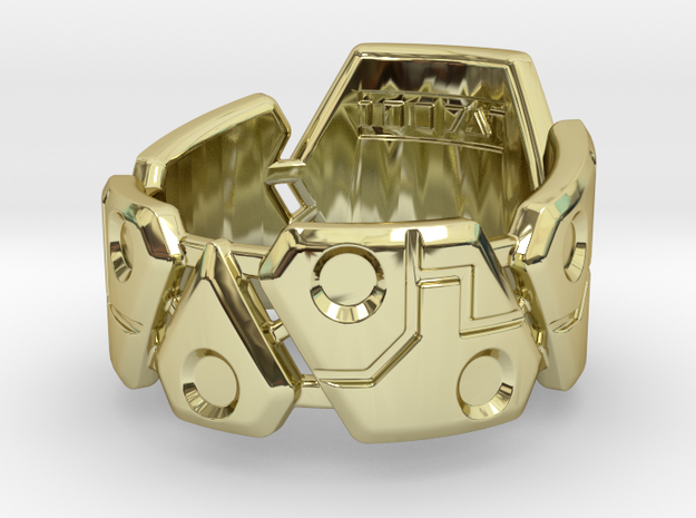 US14 Ring VIII 3d printed