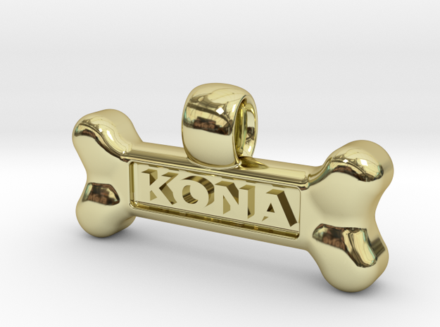 Personalized Dog Tag 3d printed